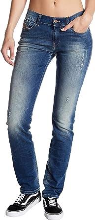Amazon Com Diesel Straitzee Pantalones Vaqueros De Mezclilla Para Mujer 26 X 32 Pulgadas Clothing