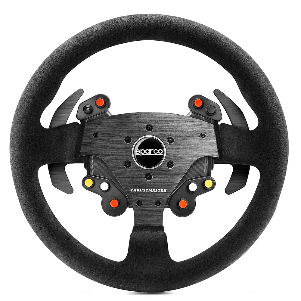 Thrustmaster TM Leather 28GT Wheel Add-on - Volante para T300, TX 458, T500 y TS-PC Racer 4060057