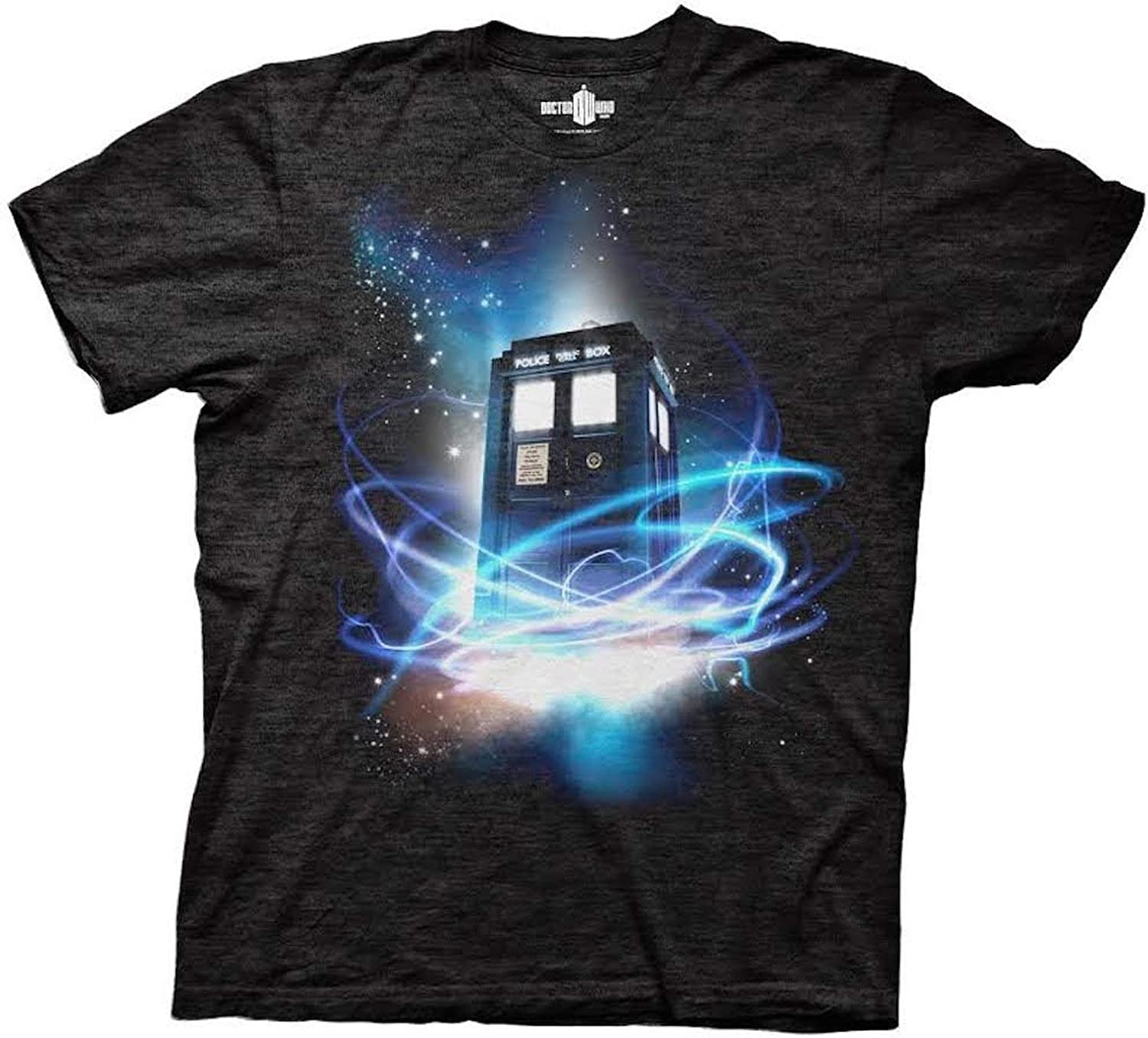 cotton division Tshirt Doctor Who Tardis in Space