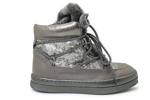 Zapatos Niña Botas Botines Unisa Fril Ft Acero 31: Amazon.es: Zapatos y complementos