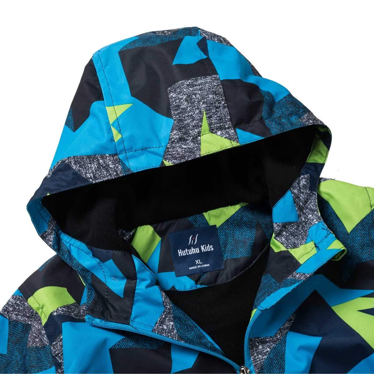 HuTuHu Girls Jacket Ultra Light Warm Colorful Fashion Outwear Kids Winter Coat