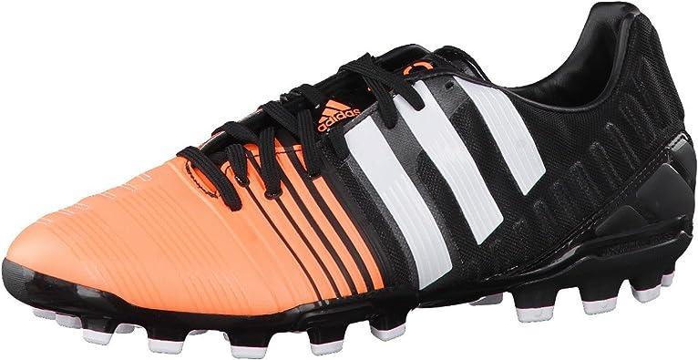 adidas Nitrocharge 2.0 TRX AG, Bota de fútbol, Black-White ...
