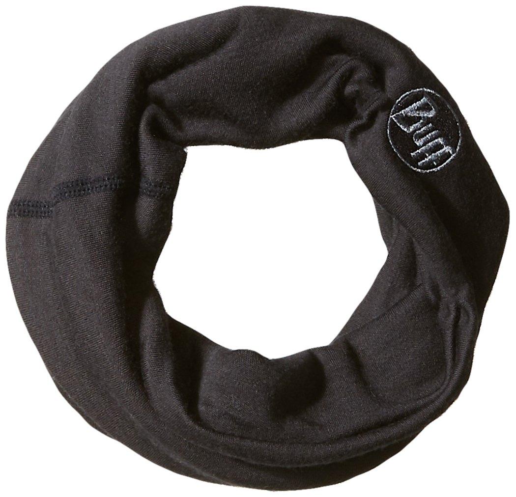BUFF Heavyweight Merino Wool Neck Warmer, Black, One Size Inc. HVWT Merino Wool Neckwarmer
