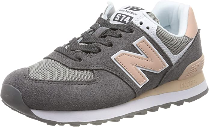 New Balance WL 574 B Sneakers Damen Grau