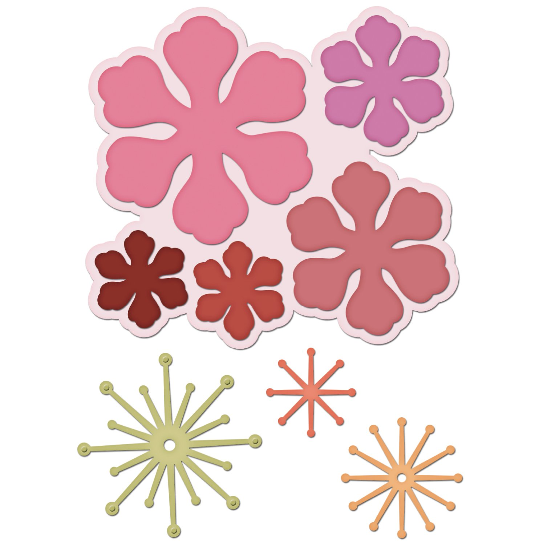 Heartfelt Creations Arianna Blooms 1'' to 4.25'' Emboss Dies