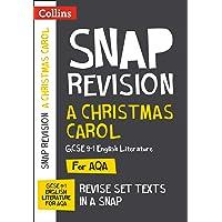 A Christmas Carol: New Grade 9-1 GCSE English Literature AQA Text Guide (Collins GCSE 9-1 Snap Revision)