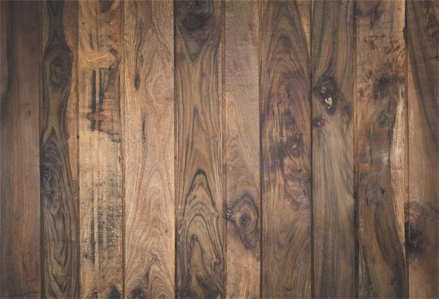 Laeacco Vintage Rustic Wood Teture Wall Backdrops Countryside 90cm x 60cm Vinyl Photography Backdrop Grunge Retro Vertical Striped Wood Plank Background Children Adult Rural Style Portrais Old Barn