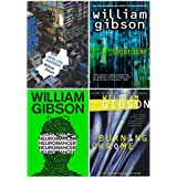Sprawl Series Complete 4 Books Collection Set by William Gibson (Neuromancer, Count Zero, Mona Lisa Overdrive & Burning Chrom
