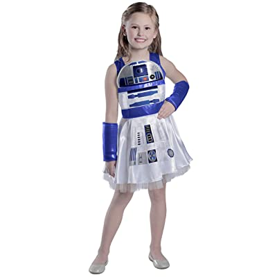 Princess Paradise Girls' Classic Star Wars R2d2 Dress: Toys & Games