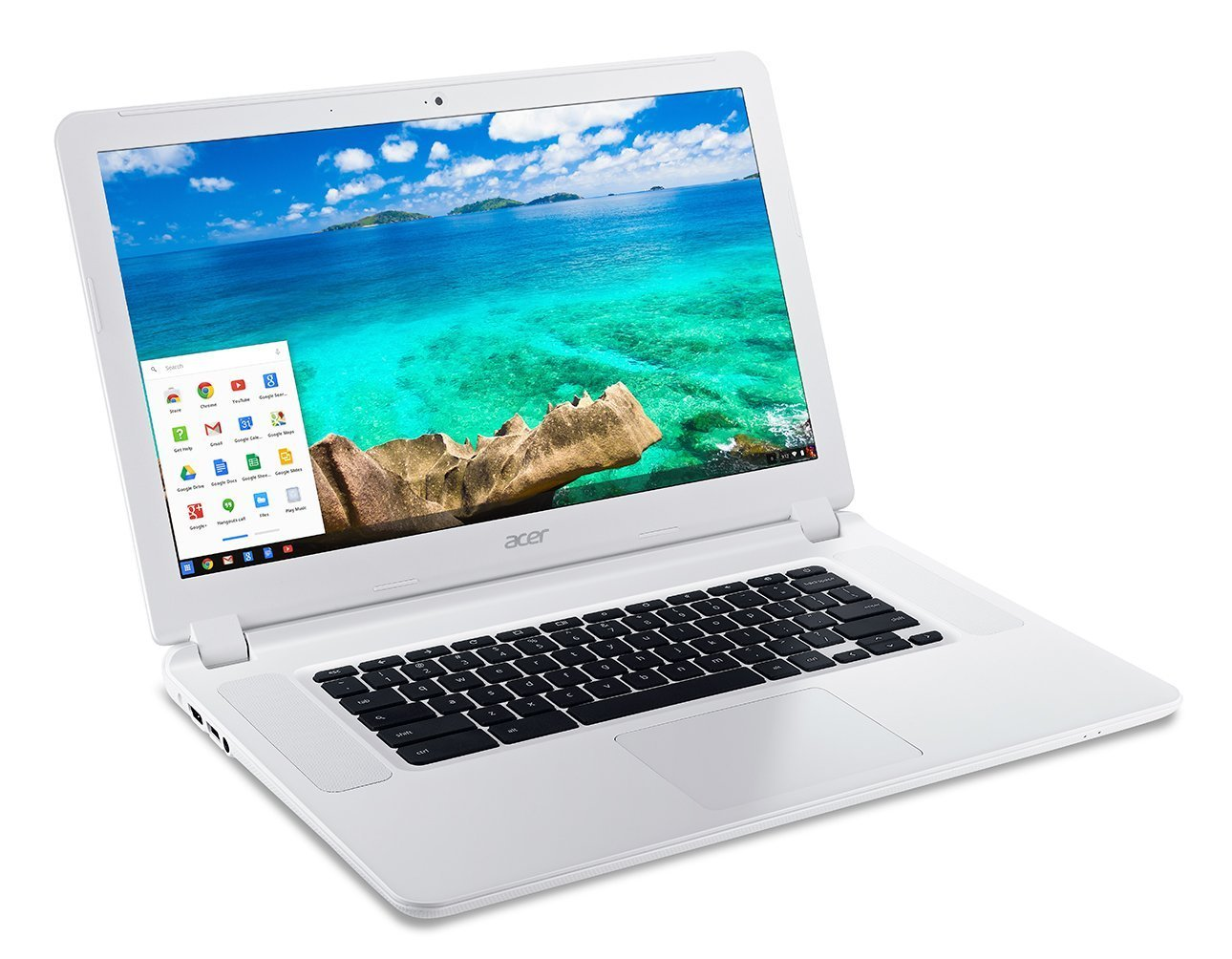 "2018 Newest Acer 15.6"" Full HD IPS Chromebook with 3x Faster WiFi , Intel Celeron Dual Core 3205U, 4GB RAM, 16GB SSD, HDMI, Webcam, Bluetooth, 9-Hours Battery, Chrome OS"