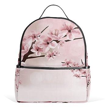 Amazon Com Cherry Blossom Flower Backpack For Women Girls Kids