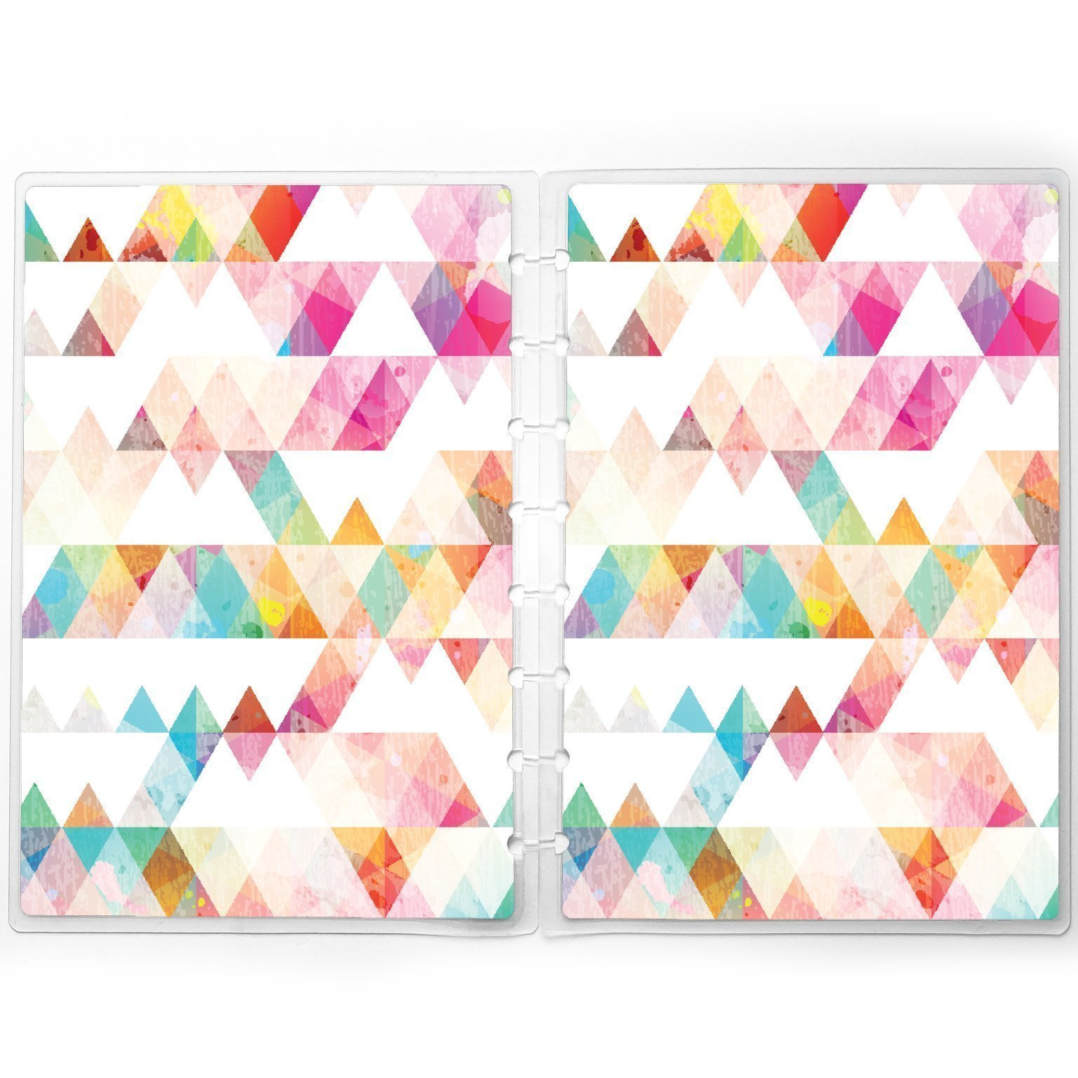 Discbound Planner Cover fits Happy Planner, Staples Arc | Triangles