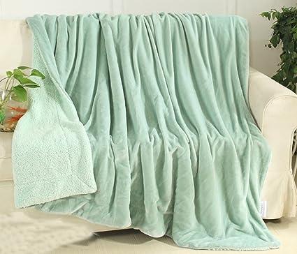 Manta reversible de Yiyida, para sofás, camas o sillones ...