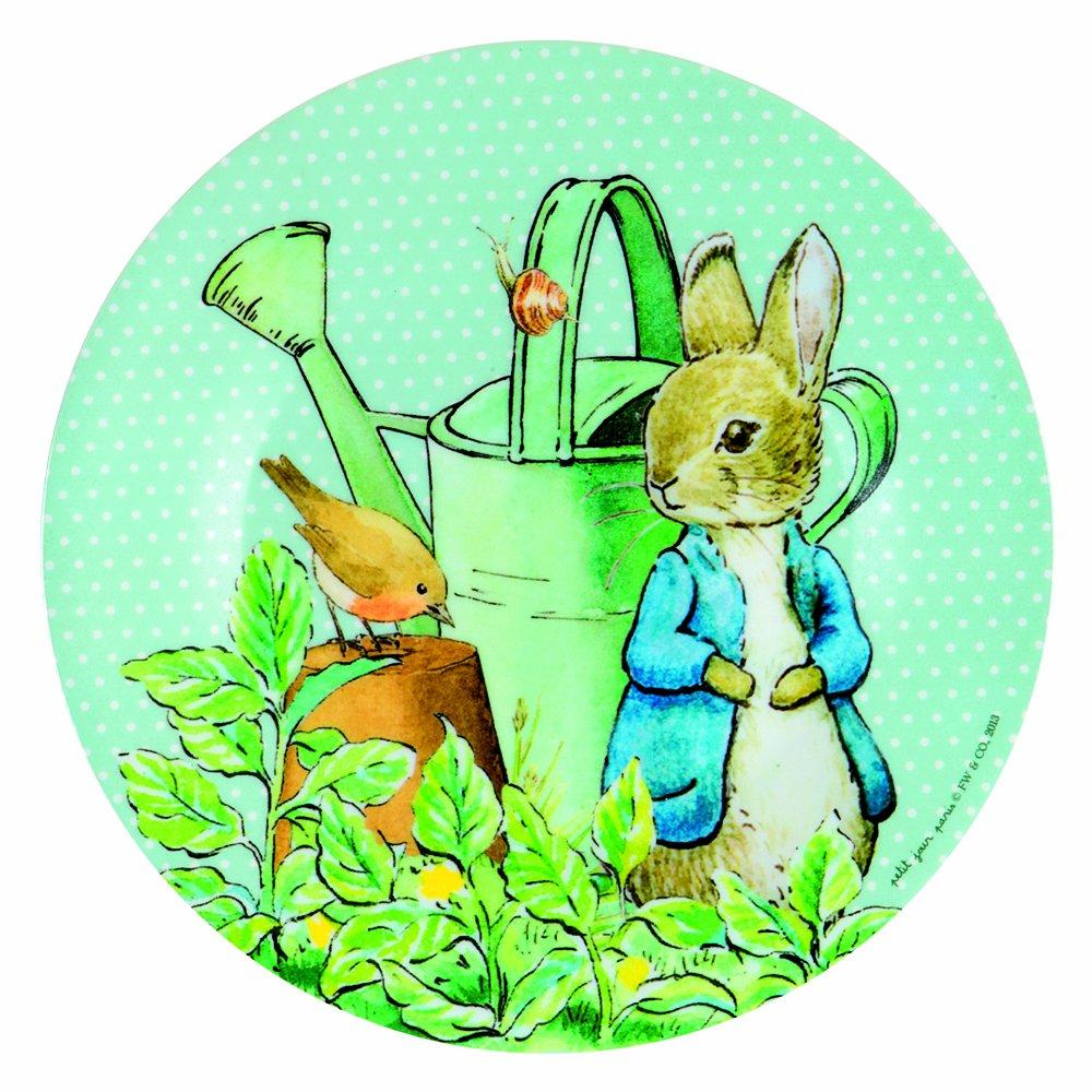 Melamina Peter Rabbit con regadera para ni/ños