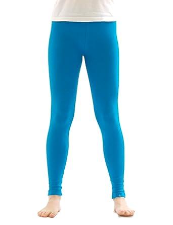 5c2c2eed6f140 YESET Thermo Children Girl Leggings Long Trousers Pants from Cotton Fleece  Lining: Amazon.co.uk: Clothing