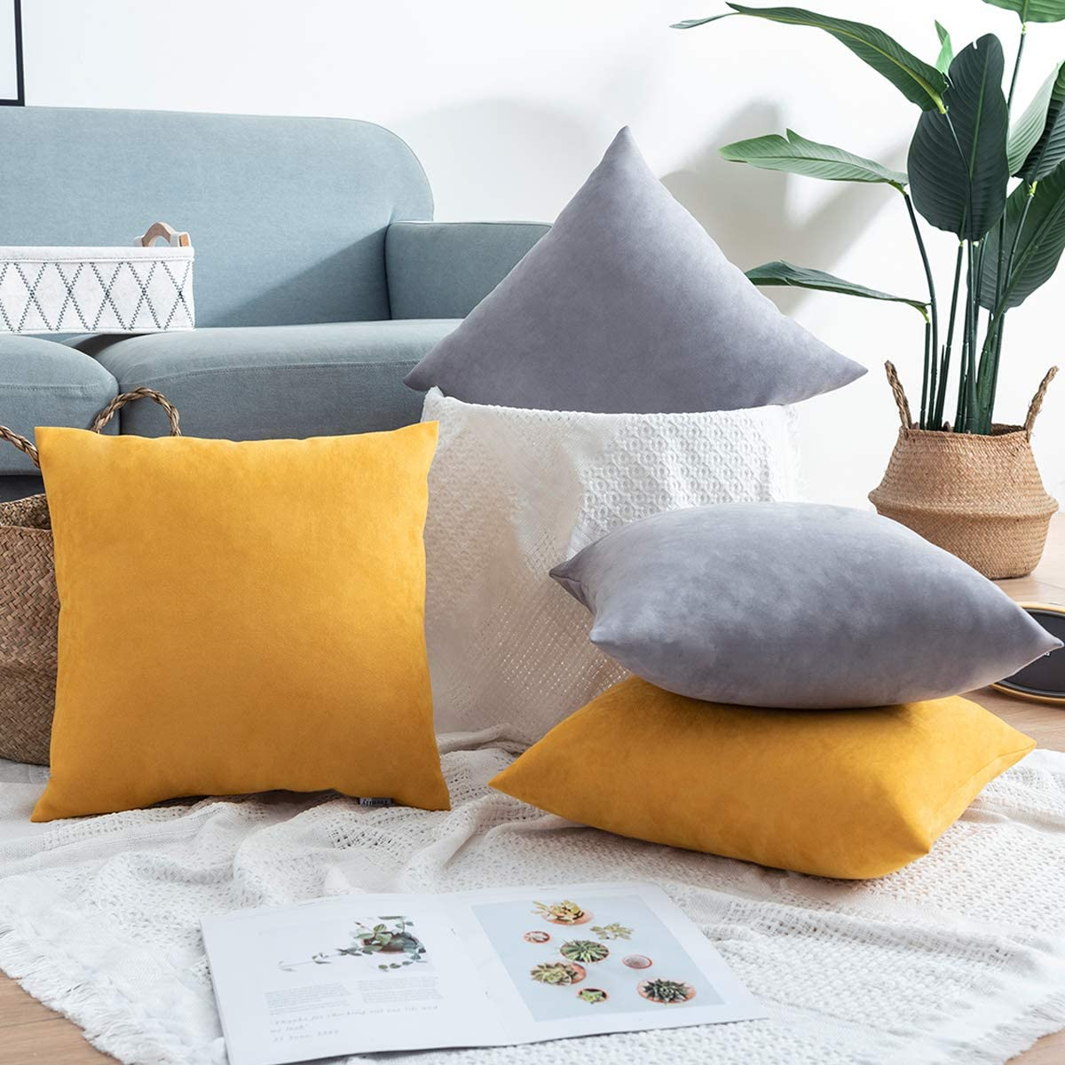65% Off Coupon – 18×18 Solid Color Pillow Covers Set of 2