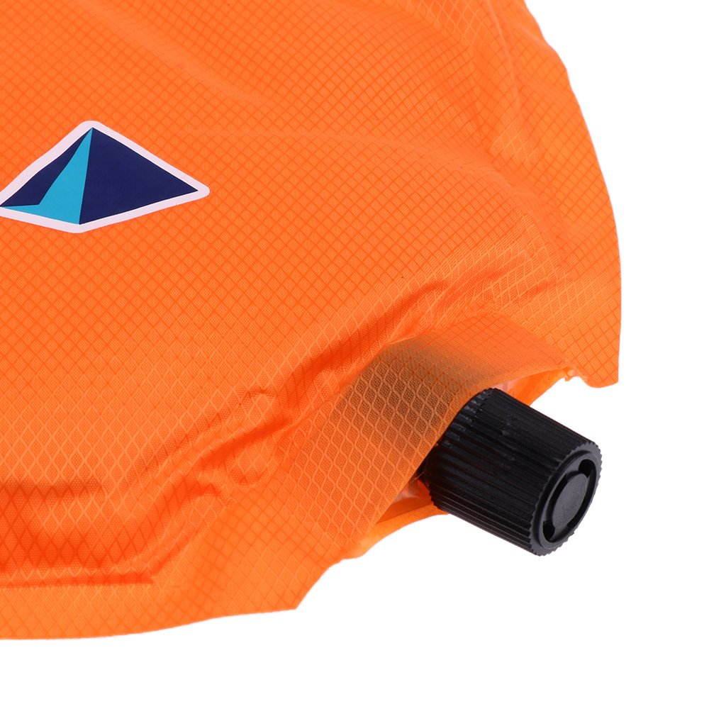 Dolity Ultralight Waterproof Inflatable Pad Mat Seat Cushion with Bag for Camping Easy to Store and Carry