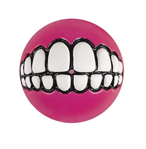 Rogz Grinz Pelota, grande, 7,8 cm, rosa: Amazon.es: Productos para ...
