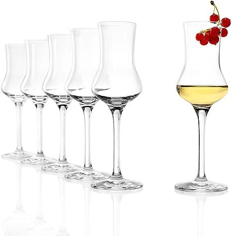 6 Grappagläser Grappaglas Schnapsgläser Obstlerglas Obstbrandglas 100 ml 10 cl