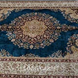 Yilong 5.6 x8.2  Oriental Rugs Classic Traditional Persian Qum Floral Medallion Design Handmade Living Room Carpet...