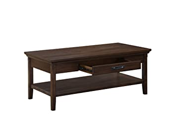 "Amazon Craft and Main Rockwell Coffee Table 47 5"" Wide by"