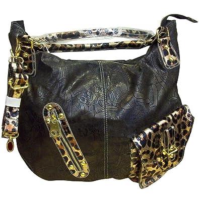 eb5482ca1b2c Mc Handbags Women s 099  Black Stylish And Elegant Handbag  Handbags   Amazon.com