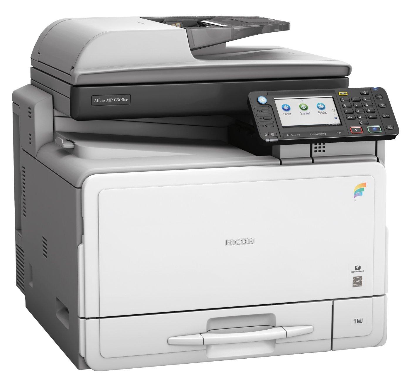 Ricoh Aficio MP C305 SPF de Colores A4-Multifunktionsgerät 4-in-1 ...
