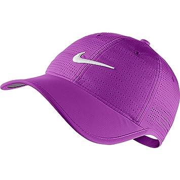 Nike Performance Cap Damen WeißWeißSchwarz Einheitsgröße