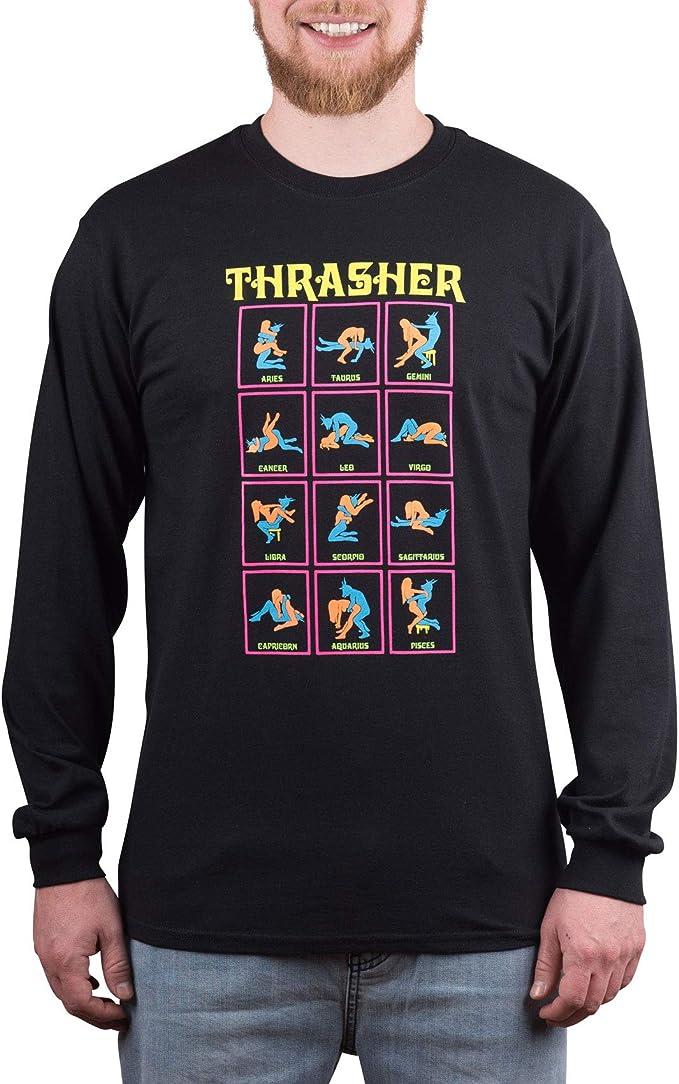 Black Light T-Shirt Black Thrasher