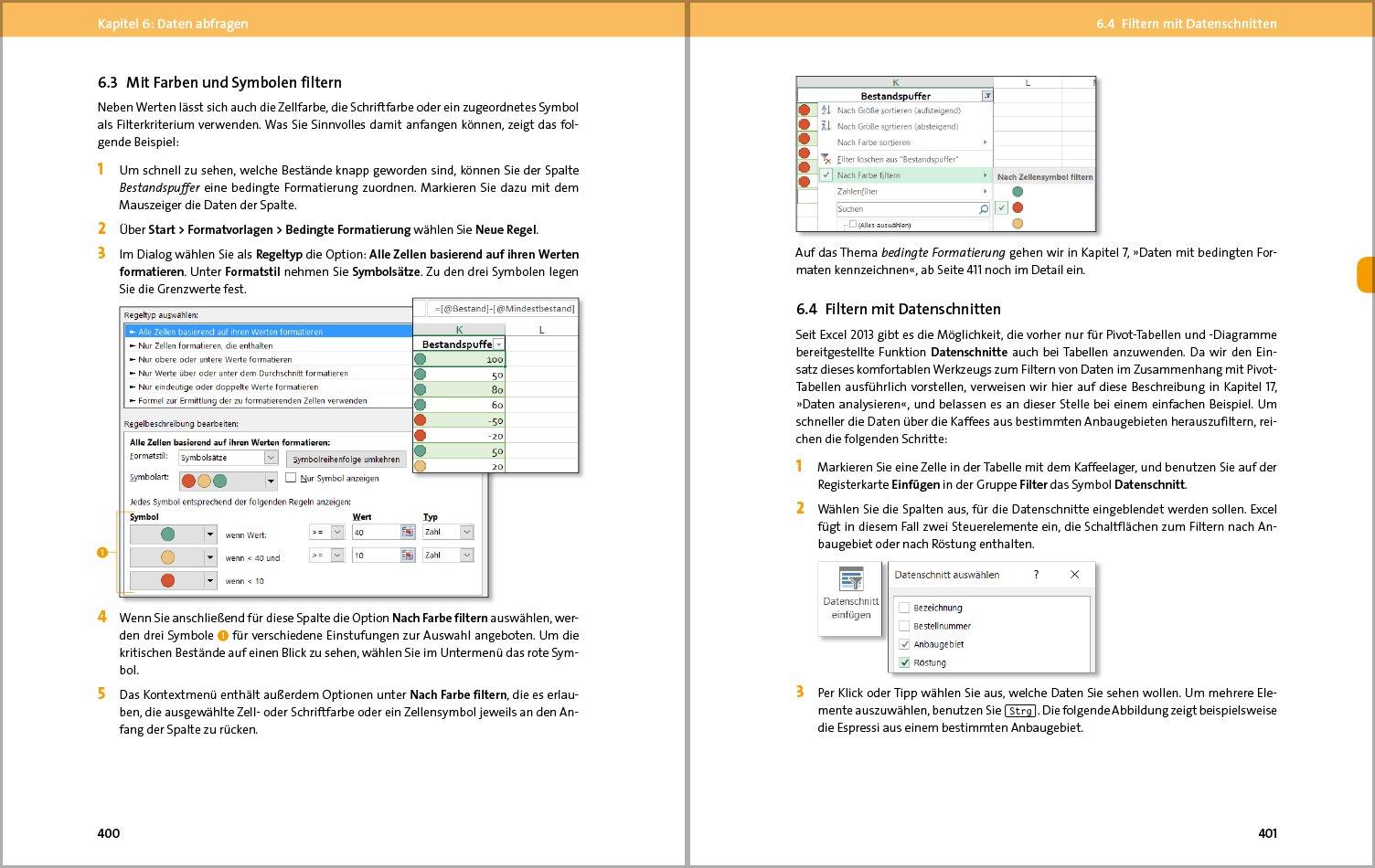 Excel 2016: Der umfassende Ratgeber, komplett in Farbe - Grundlagen ...