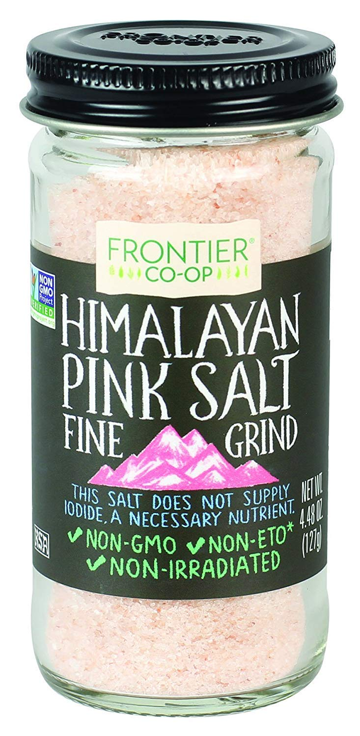 Pink Himalayan Salt, 4.48 Ounce (2 Pack) by Frontier Co-op