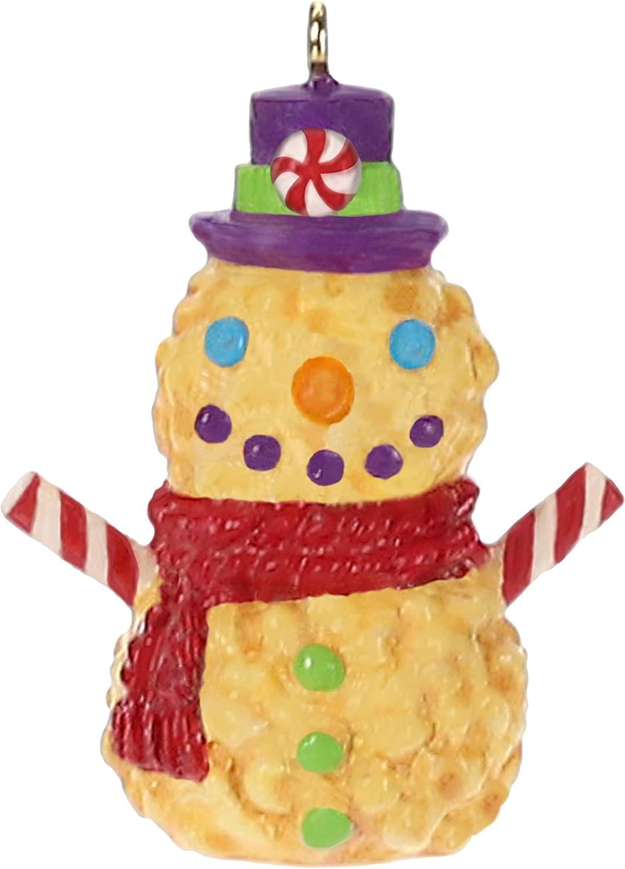 "Hallmark Keepsake Mini Christmas Ornament 2019 Year Dated Poppy Miniature, 1.31"", Puppy The Snowman"