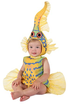 Princess Paradise Babyu0027s Anne Geddes Yellow Gobi Fish Costume 12-18 Months  sc 1 st  Amazon.com & Amazon.com: Anne Geddes Yellow Goby Fish Baby Infant Costume: Clothing