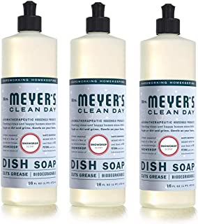 product image for Mrs. Meyer's Liquid Dish Soap, Snow Drop, 16 oz (Pack - 3)