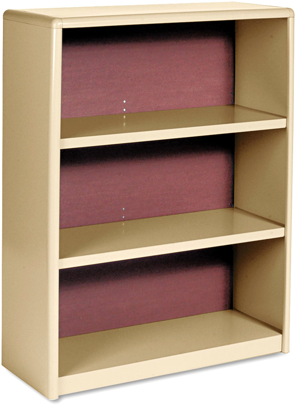 Safco Products 3-Shelf ValueMate® Economy Bookcase Tropic Sand, 7171SA DOBA-SAF7171SA