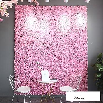 Flower wall LVZAIXI Simulation Artificielle intimité écran Fond en ...