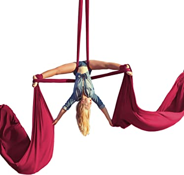 Amazon.com: Aerial Silks - Kit de iniciación para yoga, yoga ...