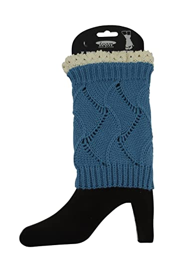 Skelapparel Knitted Boot Cuffs Boot Toppers Short Leg Warmers