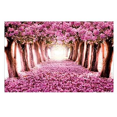 Puzzles for Adults Children's 1000 Piece Puzzle Game Flower Blossom Corridor Interesting Toys Landscape Puzzles Work from Home: Toys & Games