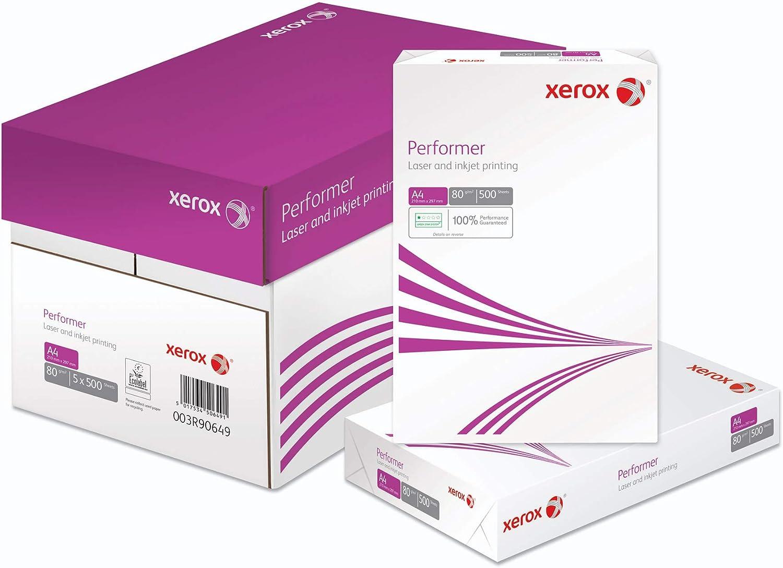 Xerox 15413145 - Papel A4, 80 g, 5 Paquetes: Amazon.es: Oficina y papelería