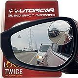 Espelhos de ponto cego Utopicar 6,35 cm redondos