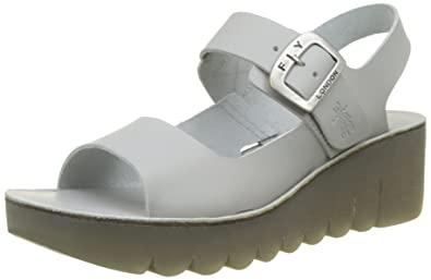 cc37f1f3fc50 Fly London Women s Yail907fly Wedge Sandals  Amazon.co.uk  Shoes   Bags