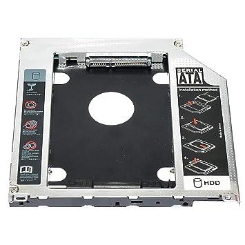 ngzhongtu Adaptador de Caddy de Unidad de Disco Duro SSD SSD de 9 ...