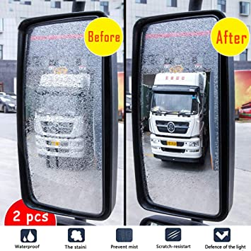 Car Rear View Mirror Protective Film for Anti Water Mist Anti-Fog and Anti-Glare Waterproof Membrane