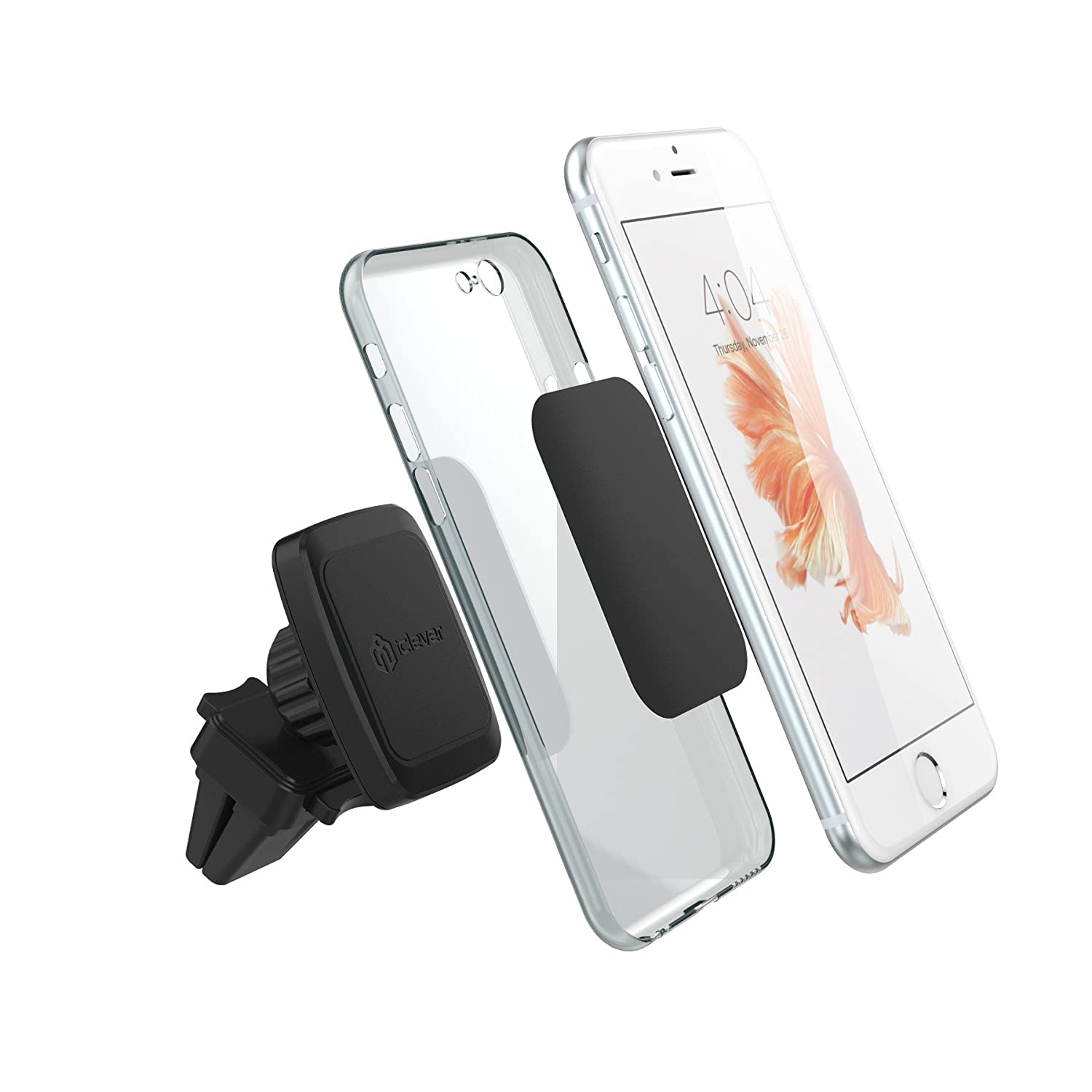 Strong Magnetic Smartphone Car Cradle iClever Car Mount IC-CH07 Universal Air Vent Phone Holder