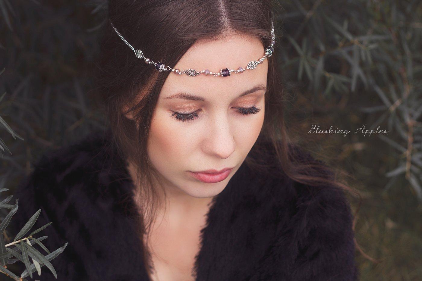 Avelina - Haarband, Tiara, Circlet