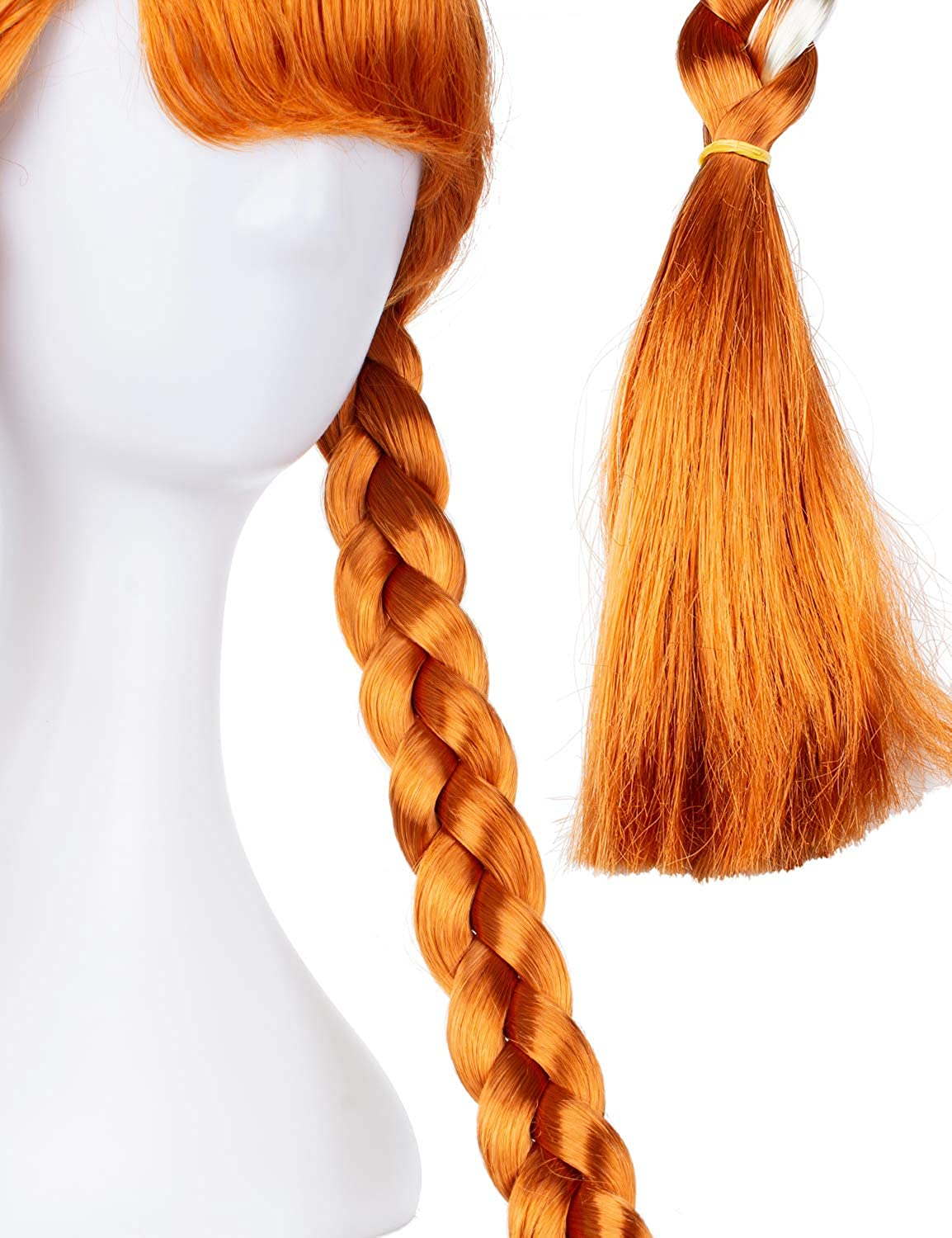 Joy Join Princess Costume Wigs for Little Girls Birthday,Halloween,Christmas Party