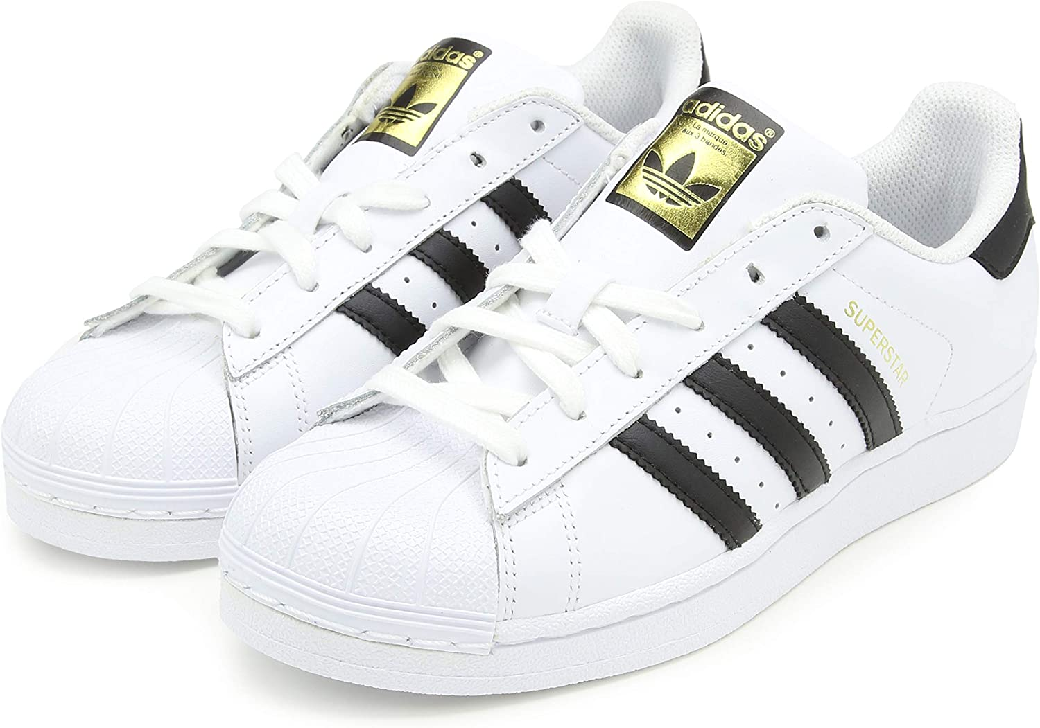 Adidas Superstar Amazon.com | adidas Originals Kid's Unisex Superstar White/Black ...