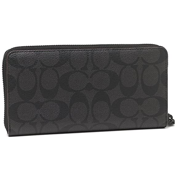 654432710c87 Amazon   [COACH(コーチ)] 長財布 F25517 N3A ブラック [並行輸入品]   COACH(コーチ)   財布