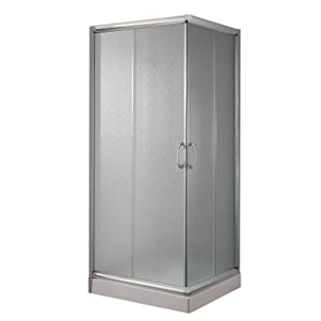 Cabine Paroi Douche 70x70 H185 Opaque 5mm mod. Alabama: Amazon.fr ...